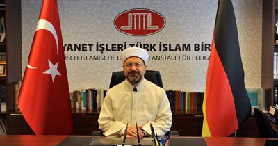 Diyanet Isleri Baskani Erbas Cami saldırıları bir an önce aydınlatılmasi gerektigini söyledi