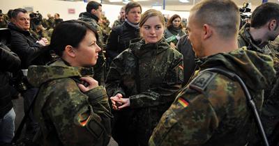 Alman ordusunda askeri personel yetersizliği