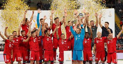 Bayern Münih Süper Kupa'yı 7.defa kazandı