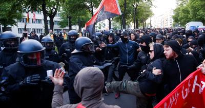 Almanya'da 1 Mayıs gösterilerinde çok sayıda tutuklama