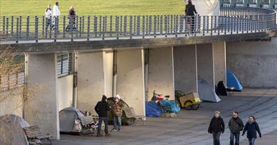 2017 verilerine göre Almanya'da 650 bin evsiz yaşıyor