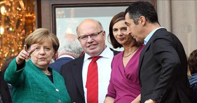 Almanya'da hükümet kurma görüsmelerinin ücüncü turu basliyor