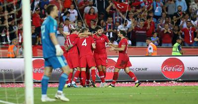 UEFA Uluslar B Ligi Isvec-Türkiye maci
