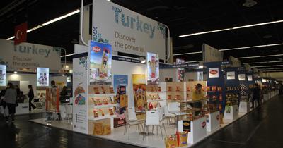 Anuga 2017'de Türk firmalarına yoğun ilgi