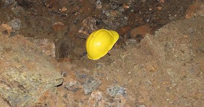 Almanya'da maden ocağında göçük