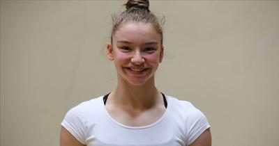 Milli cimnastikçi Ayşe altın madalya kazandı
