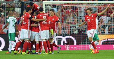 Bayern Münih DFB Kupası'nda çeyrek finalde