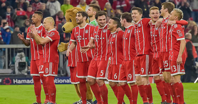 Bayern Münih rekorlarla sampiyon oldu