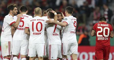 DFB Kupası'nın ilk finalisti Bayern Münih