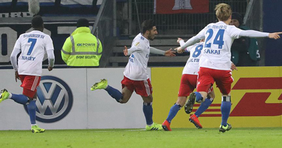 Hamburg Berkay'ın golüyle tur atladı
