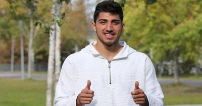 Berkay Özcan sezonun ilk yarısını kapattı