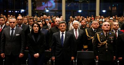 Berlin'de Çanakkale Zaferi'nin 104. yıl dönümü etkinliği