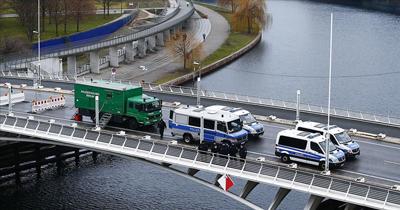 Berlin'de geniş güvenlik önlemleri alındı