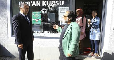 Berlin'de Türk derneği kundaklandı
