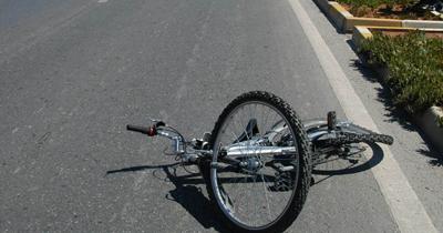 Bisikletle kaza yapan çocuk kazadan sorumlu tutuldu