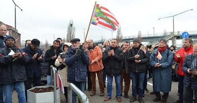 Bremen'deki cami saldırısı protesto edildi