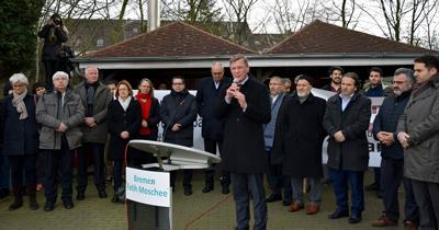 Bremen'de ırkçılık ve İslam düşmanlığı protesto edildi