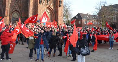 Almanya'da Zeytin Dali icin destek mitingi
