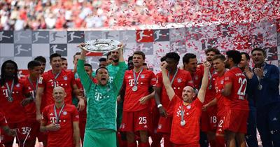 Bayern Münih Bundesliga şampiyonu