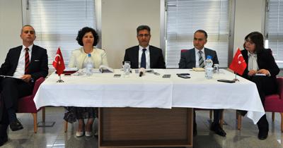 Büyükelçi Aydın'ın NRW temasları