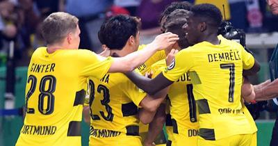 Dortmund 3 puanı 2 golle aldı