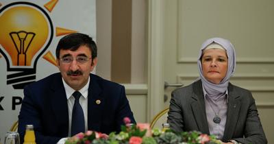 Cevdet Yılmaz Berlin'de Türk STK'lar ile görüştü