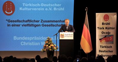 Christian Wulff zu Gast des Deutsch-Türkischen Kulturvereins in Brühl