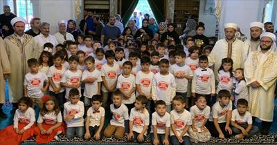 90 öğrenci duayla okula başladı