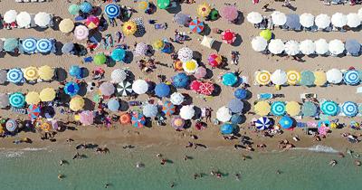 Antalya'ya 3 ayda 571 bin turist geldi