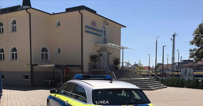 Villingen Schwenningen'de camiye bomba ihbarı