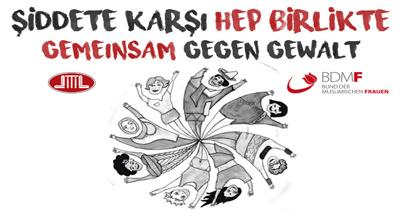DİTİB'li kadınlar şiddete karşı