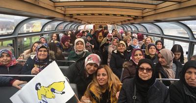 DİTİB'li kadınların Amsterdam gezisi