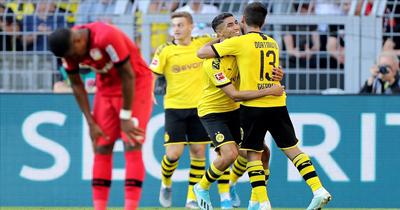 Dortmund Bayer Leverkusen'i farklı yendi