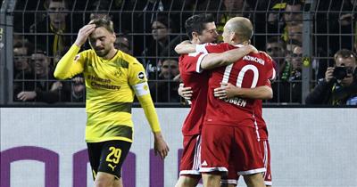 Bayern Münih'ten Dortmund'a gol yağmuru