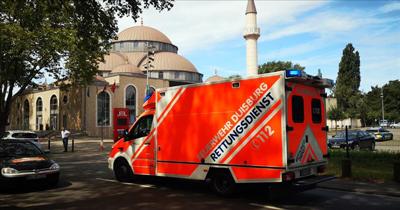 Almanya'da 3 camiye bomba ihbarı asılsız çıktı