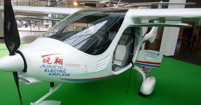 Elektrikli uçaktan ilk uçuş