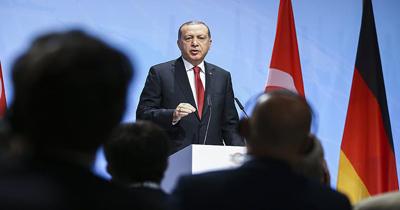 Erdogan, Alman şirketlerinin yöneticileri ile görüşecek