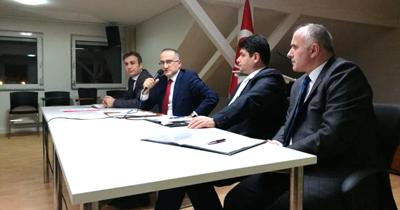 STK temsilcileriyle Essen bölgesi 2018 yılı değerlendirme toplantısı