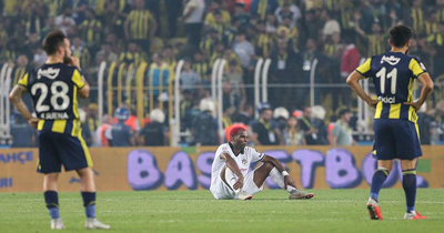 Fenerbahçe-Beşiktaş derbisi berabere bitti