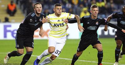 UEFA Avrupa Ligi'nde Fenerbahçe bir üst tura yükseldi