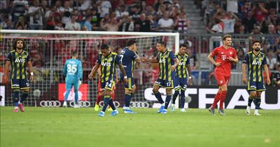 Auidi Kupası'nda Bayern Münih Fenerbahçe'yi farklı yendi