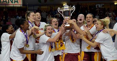 Galatasaray Kadınlar takımı Avrupa şampiyonu oldu