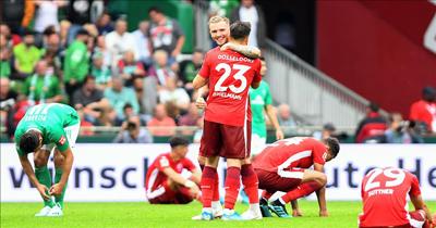 Düsseldorf Kenan ve Kaan ile kazandı