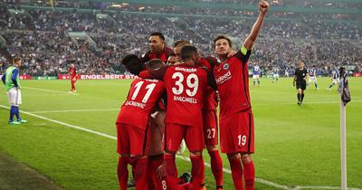 Frankfurt Münih'i farklı yendi