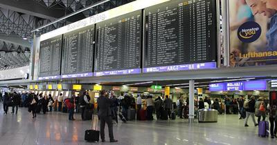 Şüphe üzerine Frankfurt Havaalanı'nda kısmi tahliye