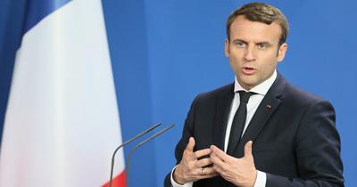2018 Şarlman ödülü Macron'a verildi