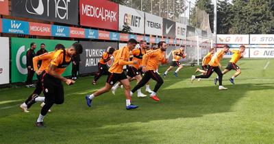 Galatasaray Schalke 04 maçı için hazırlanıyor