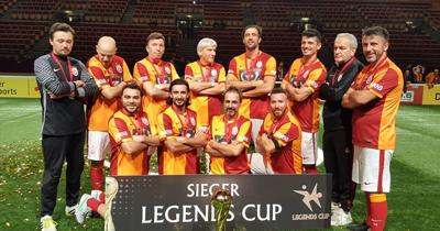 Galatasaraylı veteranlar Köln'de birinci oldu