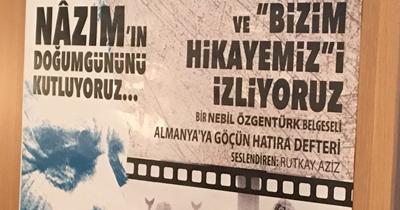Göç belgeselinin tanıtımı yapıldı