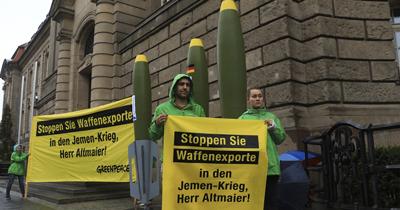 Greenpeace'ten Almanya'ya silah ambargosu çağrısı